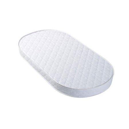oval bassinet mattress eclipse perfection rest oval bassinet pad walmart