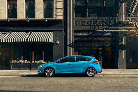Ford Focus 2017 Blue Color Side View Hd Wallpaper Latest
