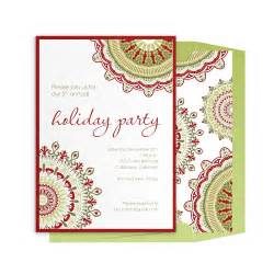 holiday invitations corporate holiday invitations umma patterned party invitation