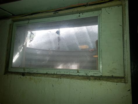 Do I Use A Wooden Frame For A Basement Hopper Window