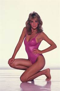 Heather Locklear Poses for a Harry Langdon Bikini/Fashion ...