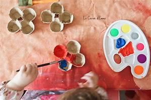 Activité Manuelle Enfant 3 Ans : des fleurs en bo te ufs maman boite a oeuf activit manuelle 2 ans et activit manuelle ~ Melissatoandfro.com Idées de Décoration