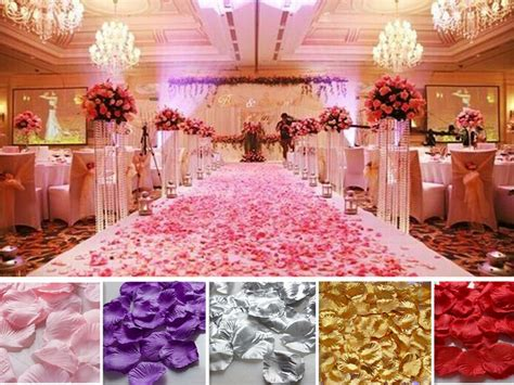 wholesale wedding party decorations various colors fabric