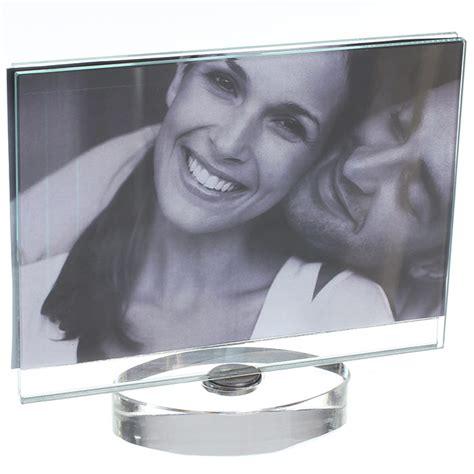 cadre photo en verre design pour photo 15 x 10 cm