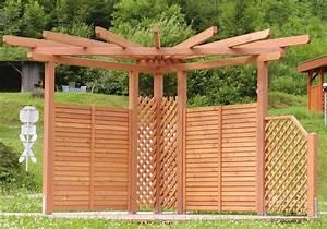 Pergola Bausatz Holz : pergola perfekter sichtschutz f r den garten pergola ~ Articles-book.com Haus und Dekorationen