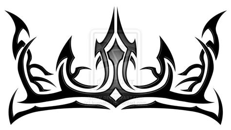 tribal crown   lion tattoos cool tribal tattoos crown tattoo design crown tattoo men