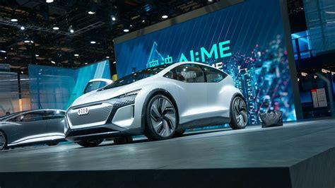 audi aime concept   autonomous city car   future