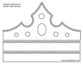 Princess Crown Template Printable