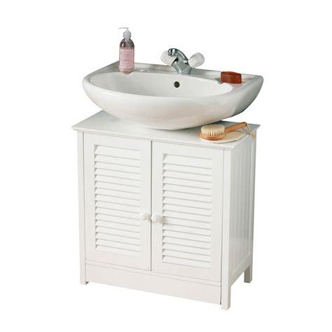 Sink Cupboard by Sink Bathroom Cabinet Unit Storage Cupboard White