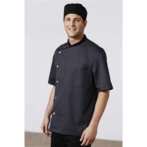 bragard veste de cuisine veste de cuisine gris foncé noir bragard
