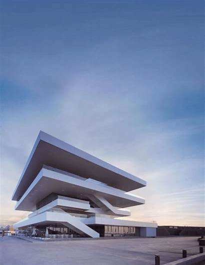 Animated Gifs Architecture Building David Axel Cup