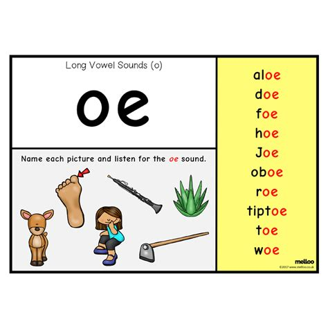 vowel sounds o eyfs ks1