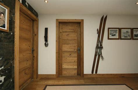 porte des chambres en bois porte intérieure en vieux bois