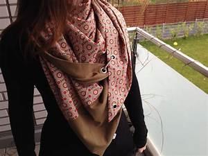 Schal Selber Nähen : dreiecktuch mit karabiner sewing scarf n hen pinterest ~ Orissabook.com Haus und Dekorationen