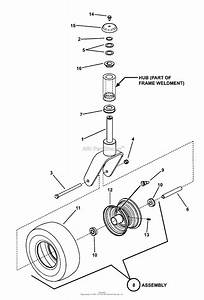 Snapper Pro 7800019   48 U0026quot  Mower Deck Series 1 Parts Diagram For