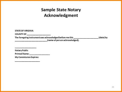 notary signature block template 26 images of notary seal template lastplant