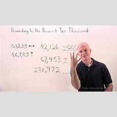 Rounding To The Nearest Ten Thousand  My Growing Brain Youtube