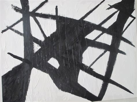 Abstract Painting Black And White by Black And White Abstract 5 Hd Wallpaper