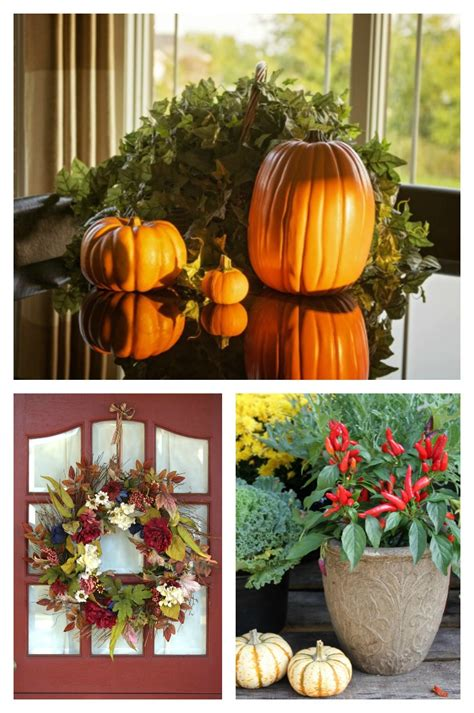 Decorating Ideas For Fall Outside by Tips For Fall Decorations And Easy Autumn Decor