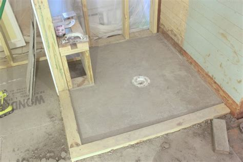 diy tile shower how to diy a shower pan preslope and do you even need one