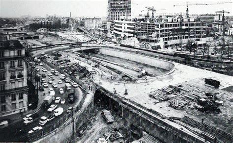 gare du nord porte de versailles 1960 construction du p 233 riph 233 rique porte maillot travaux du p 233 riph 233 rique parisien