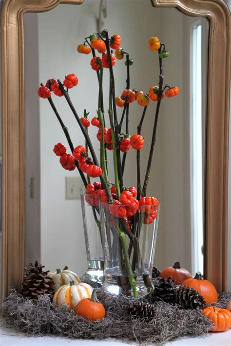 fall floral arrangment hgtv