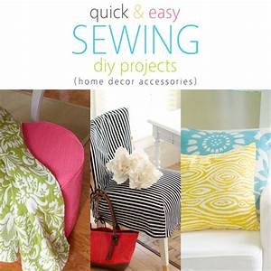 Quick and Easy Sewing DIY Projects (Home Decor Accessories ...