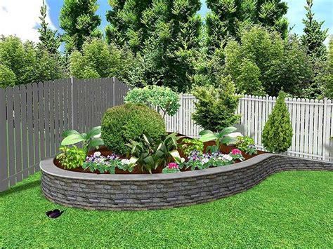 diy outdoor house landscape for front yard and backyard