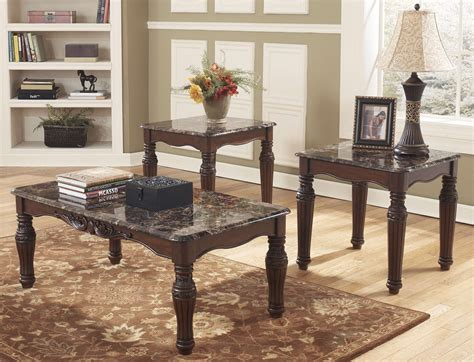 Spend this time at home to refresh your home decor style! 8 Ashley Marble Top Coffee Table Pics