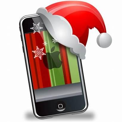 Christmas Iphone Gadgets Icon Xmas Apps Ipad