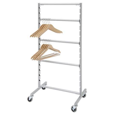 rolling shelf rack rolling hanger storage rack