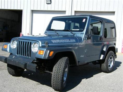Used 1999 Jeep Wrangler Se 4x4 For Sale  Stock #c8265a