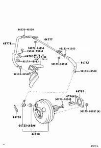 2007 Toyota Highlander Clamp  Vacuum Hose  California