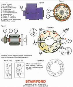 Rsk2001 Stamford Rectifier Repair Kit
