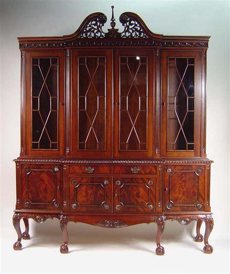 ball claw  door mahogany dining room china cabinet