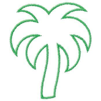 palm tree outline clipart best clipart best