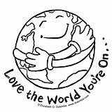 Earth Colouring Sheets Coloring Printable Planet Templates Children Playing Preschoolers sketch template