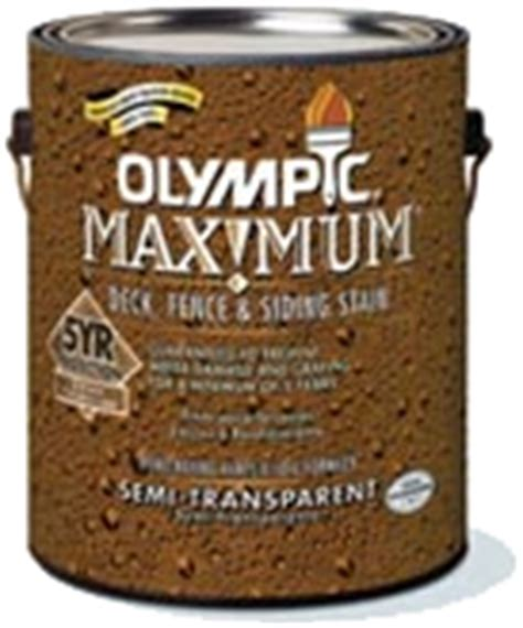 olympic maximum deck stain review  deck stain party