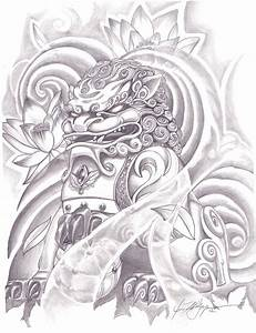 1000+ images about Foo Dog tattoo on Pinterest