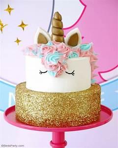 Gateau D Anniversaire : recette g teau d 39 anniversaire licorne f tes party ~ Melissatoandfro.com Idées de Décoration