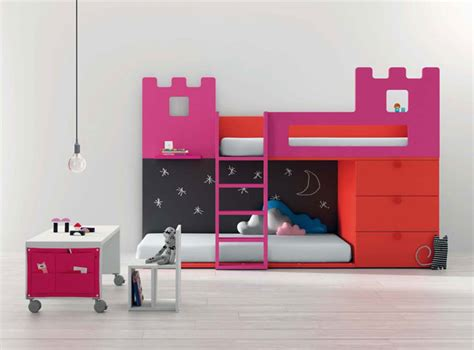 New Bright Furniture For Cool Kids Room Designs From