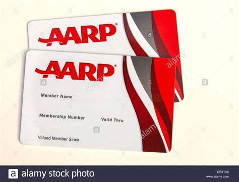 aarp membership cards stock photo  alamy