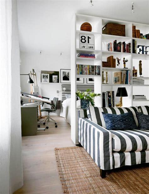 separation chambre coin chambre dans le salon 40 idées pour l 39 aménager