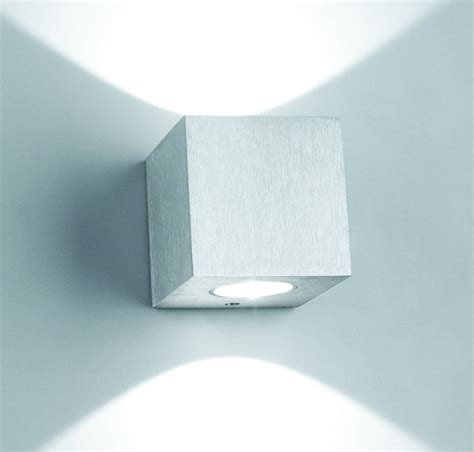 china 6w indoor up led wall light for hotel w3a0008