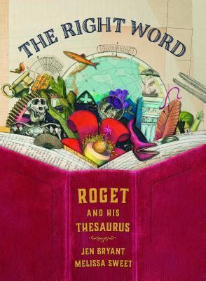 word roget   thesaurus  jennifer fisher bryant reviews discussion