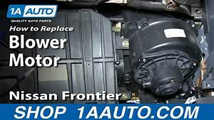 How To Install Replace Ac Heater Blower Fan Motor 2000