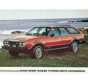 1980 AMC Eagle 4X4 Station Wagon  Advertisement S Car