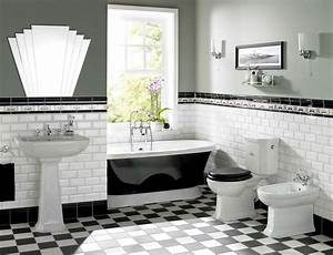 Art deco interior design for every rooms transformation for 1930 bathroom style