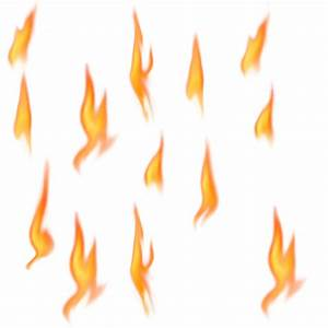 Flame clipart realistic fire flames - Pencil and in color ...