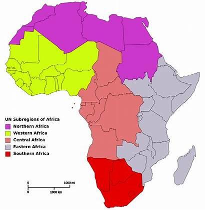 Africa Regions Map Wiki